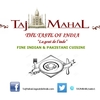 TAJ MAHAL - THE TASTE OF INDIA